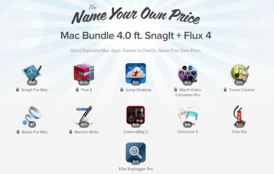 Stacksocial Mac Bundle 4.0: 11 программ для OS X по назначенной вами цене
