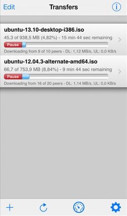 Cydia] iTransmission 4 - обновленный торрент-клиент для iOS