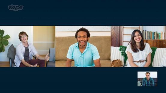 Групповая видеосвязь в Skype