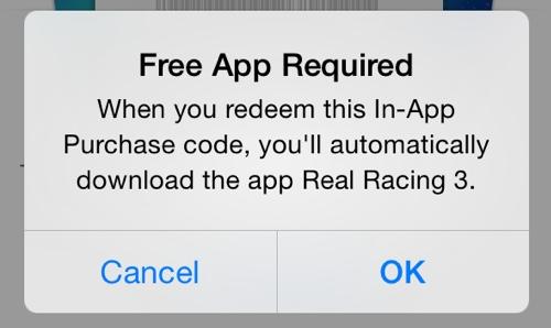 Промокоды для In-App Purchase