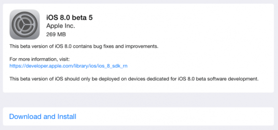 iOS 8 beta 5_nowm