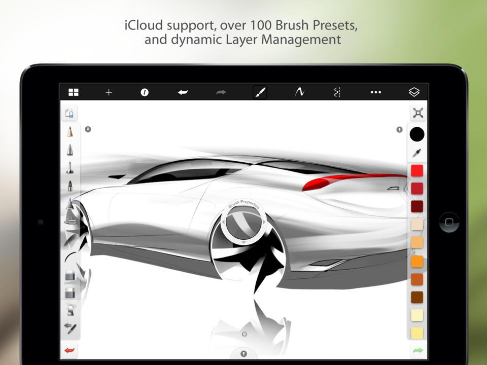 Учимся рисовать голову человека SketchBook Pro 6