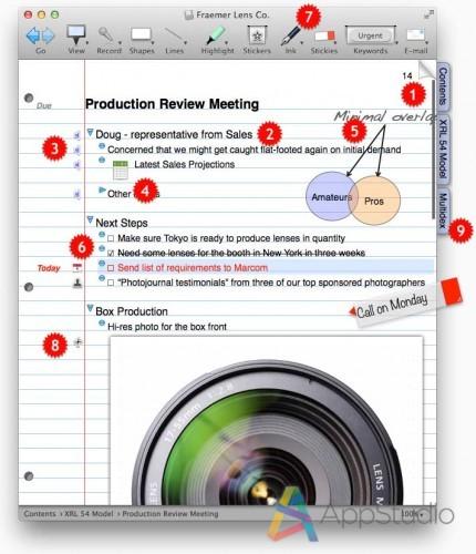 NoteBook4ScreenshotProfessional