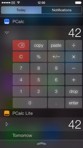 pcalc-widget