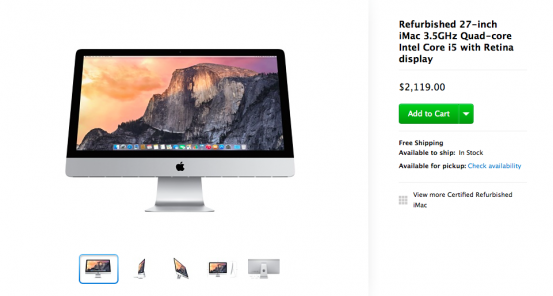2015-01-16 16-44-26 Refurbished 27-inch iMac 3.5GHz Quad-core Intel Core i5 with Retina display - Apple Store (U.S.)_nowm