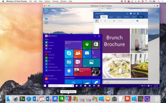 windows-10-tech-preview-in-parallels-desktop-10-on-mac-os-x-yosemite