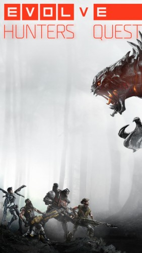 Заставка игры Evolve Hunter's Quest