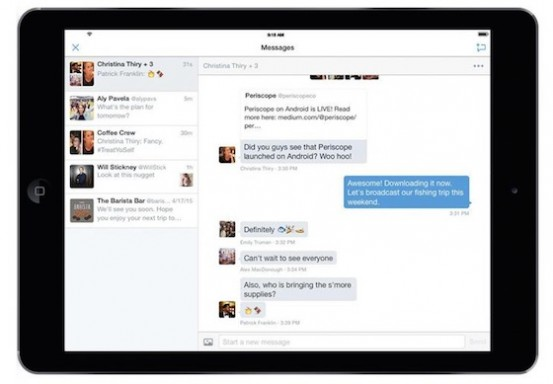 Twitter-Application-iPad-Messages-Groupes