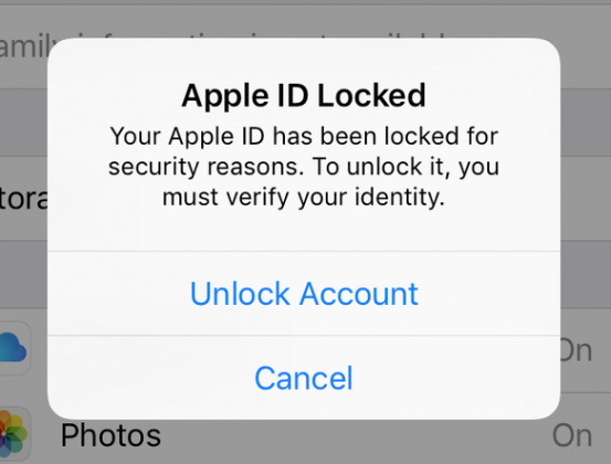 appleidlocked