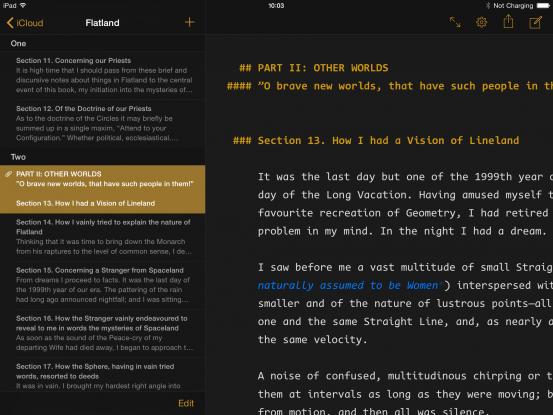 Текстовый редактор Ulysses отныне работает по подписке