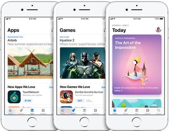 Apple разрешила скачивать по сотовой сети приложения до 150 МБ