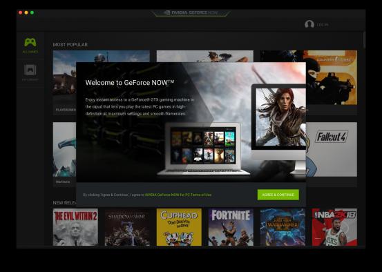 Nvidia запустила сервис GeForce Now для Mac, позволив играть в PC-игры через облако