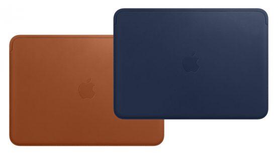 Apple выпустила фирменные кожаные чехлы для MacBook 12 дюймов