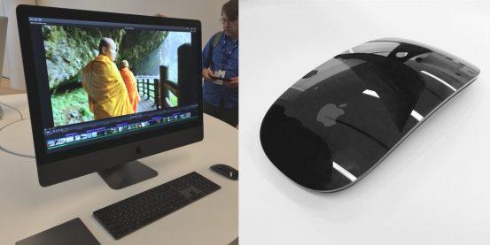 Apple устроила демонстрацию iMac Pro и эксклюзивных аксессуаров в цвете «Серый космос»