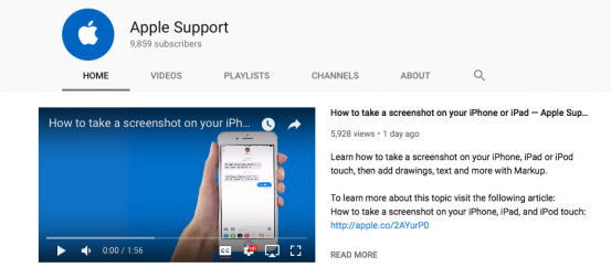 Канал Apple Support на YouTube призван обучить пользователей iPhone и iPad