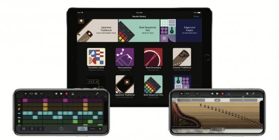 GarageBand 2.3 пополнилось Фонотекой, новыми звуками, инструментами, бит-секвенсором и поддержкой iPhone X