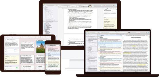 Scrivener 3 – большое обновление популярного писательского приложения