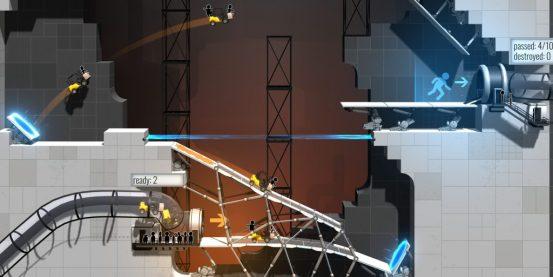Головоломка Bridge Constructor Portal от Valve выйдет 20 декабря