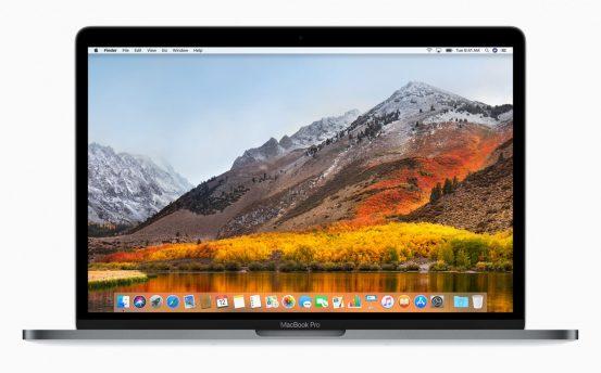 Состоялся релиз macOS High Sierra 10.13.2 с последними обновлениями безопасности