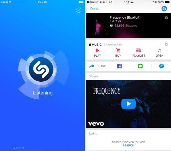 Apple официально подтвердила покупку сервиса Shazam