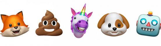 iOS 11.3 принесёт четыре новых Анимодзи